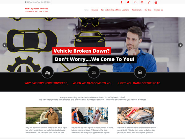 mechanic-website
