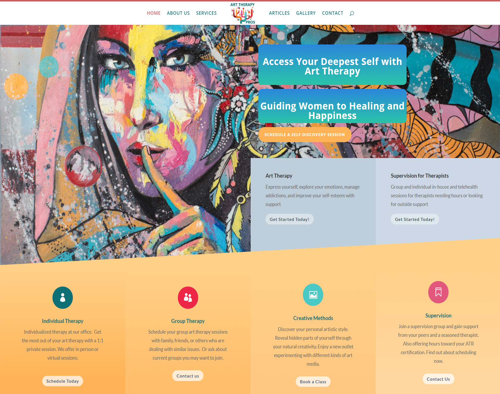 Art Therapy Website