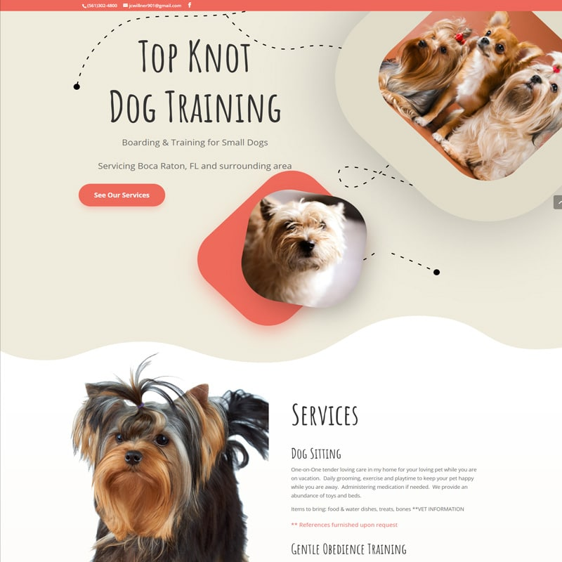 Dog Training Website