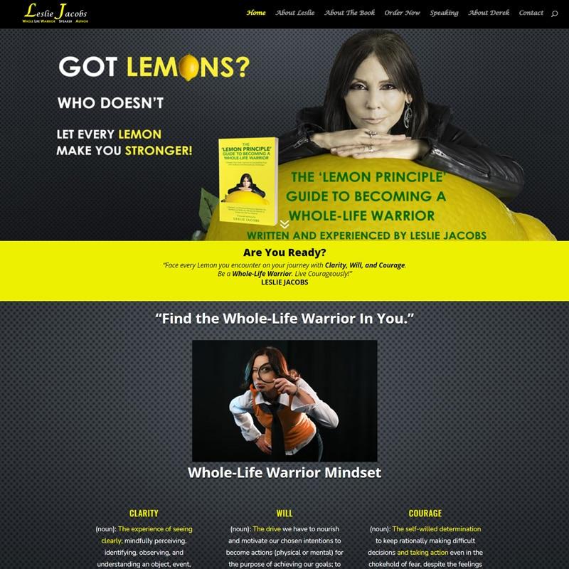 Author Speaker Website