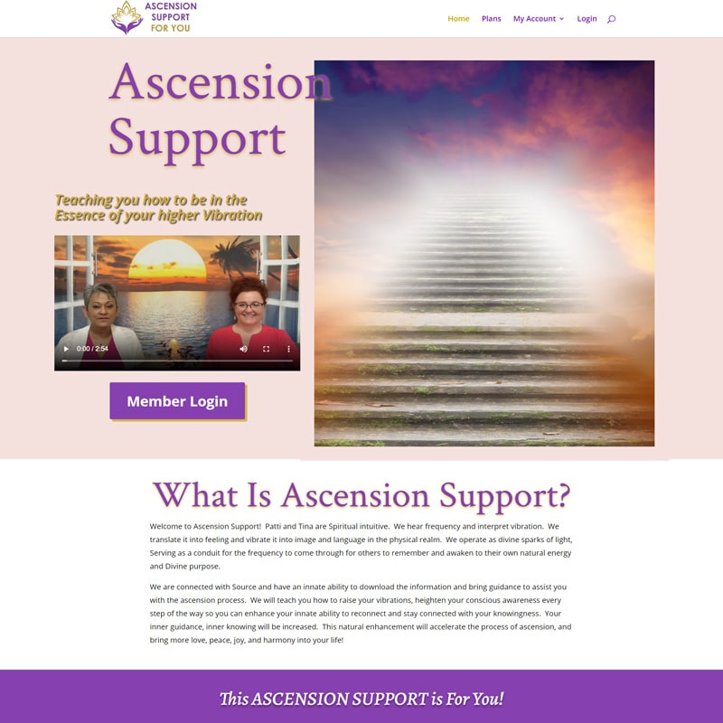 Ascension Support for You