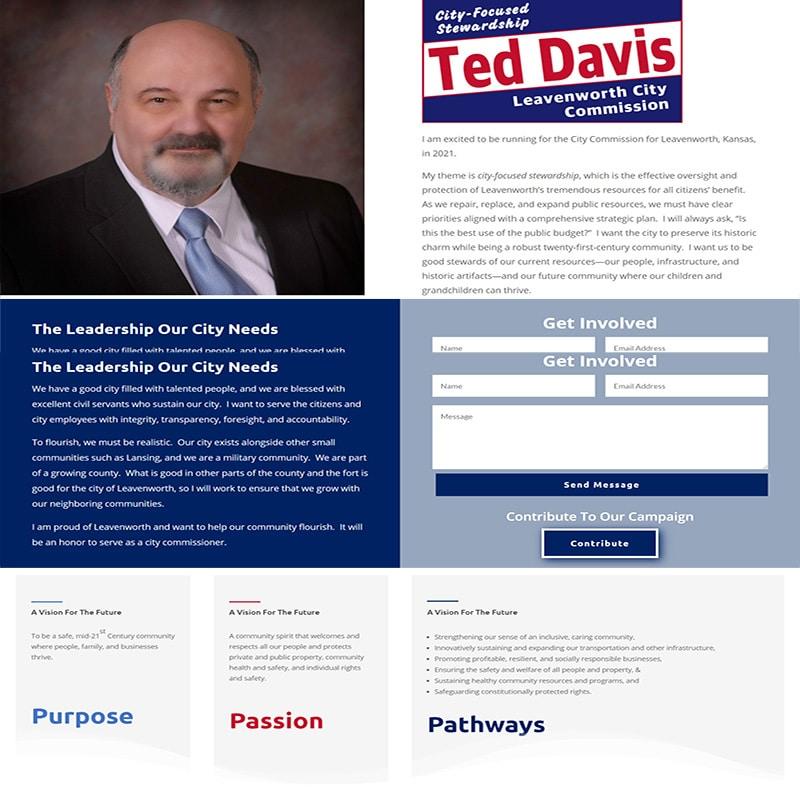 ted davis city commission